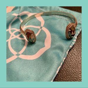 Kendra Scott Elton Silver Cuff Bracelet